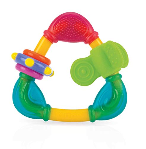 Nuby Spin N' Teethe Teether, Colors May Vary - Aiden's Corner Baby Clothes