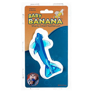 Baby Banana - Sharky Toothbrush, Training Teether Tooth Brush - Aiden's Corner
