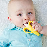 Baby Banana - Yellow Banana Toothbrush, Training Teether Tooth Brush for Infant, Baby, and Toddler - Aiden's Corner Baby Clothes