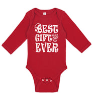 Best Gift Ever Christmas Long Sleeve - Aiden's Corner Baby Clothes