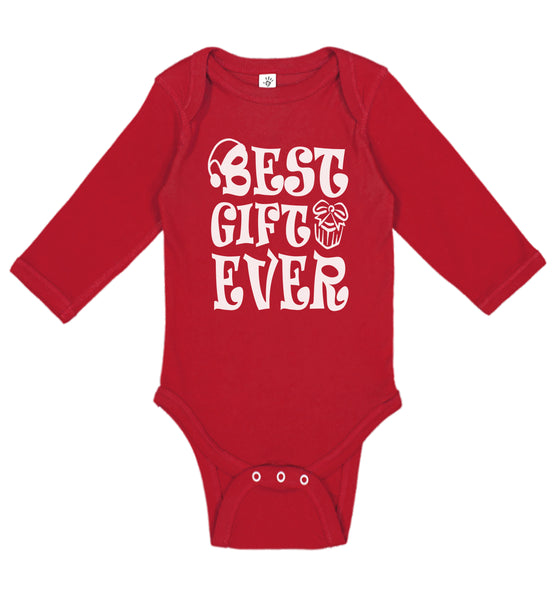 Best Gift Ever Christmas Long Sleeve - Aiden's Corner