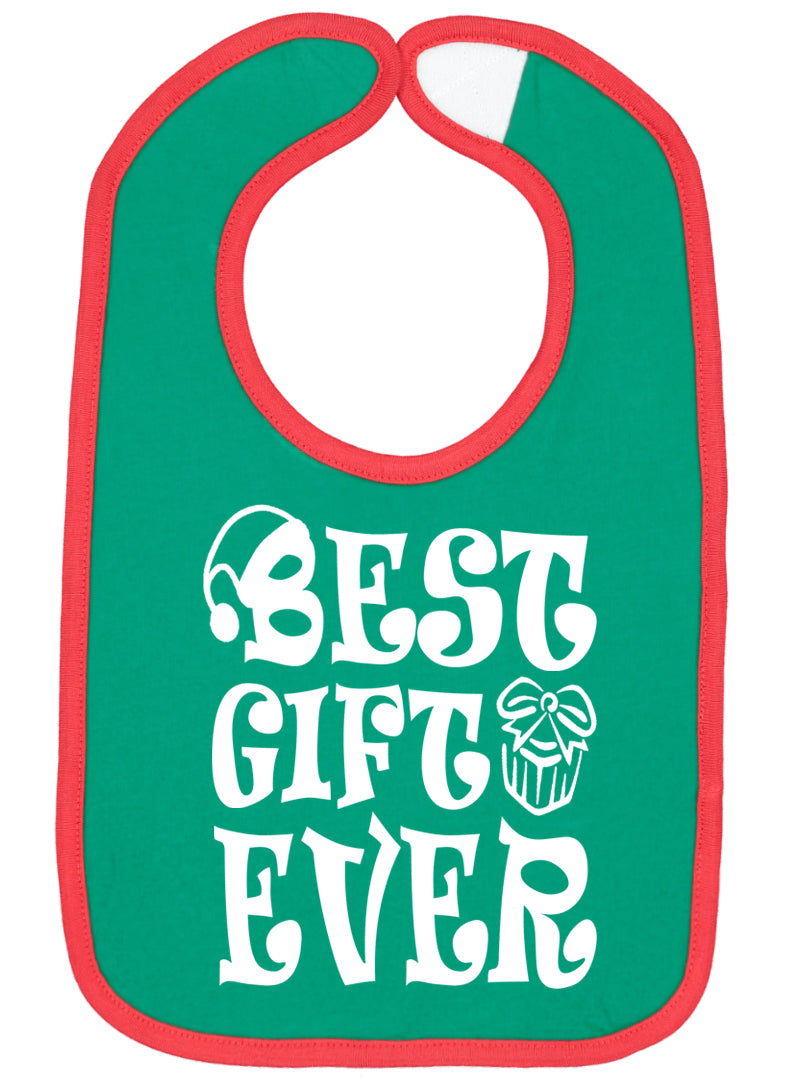 Best Gift Ever Christmas Bib - Aiden's Corner