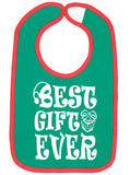 Handmade Boutique Style Baby Bibs - Christmas Best Gift Ever