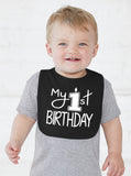 My First Birthday Smash Cake Bib