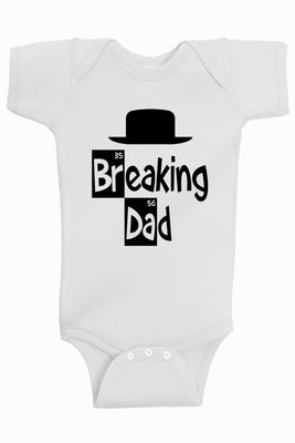 Baby Boy Clothes - Breaking Dad Bodysuit @ aidenscorner.com
