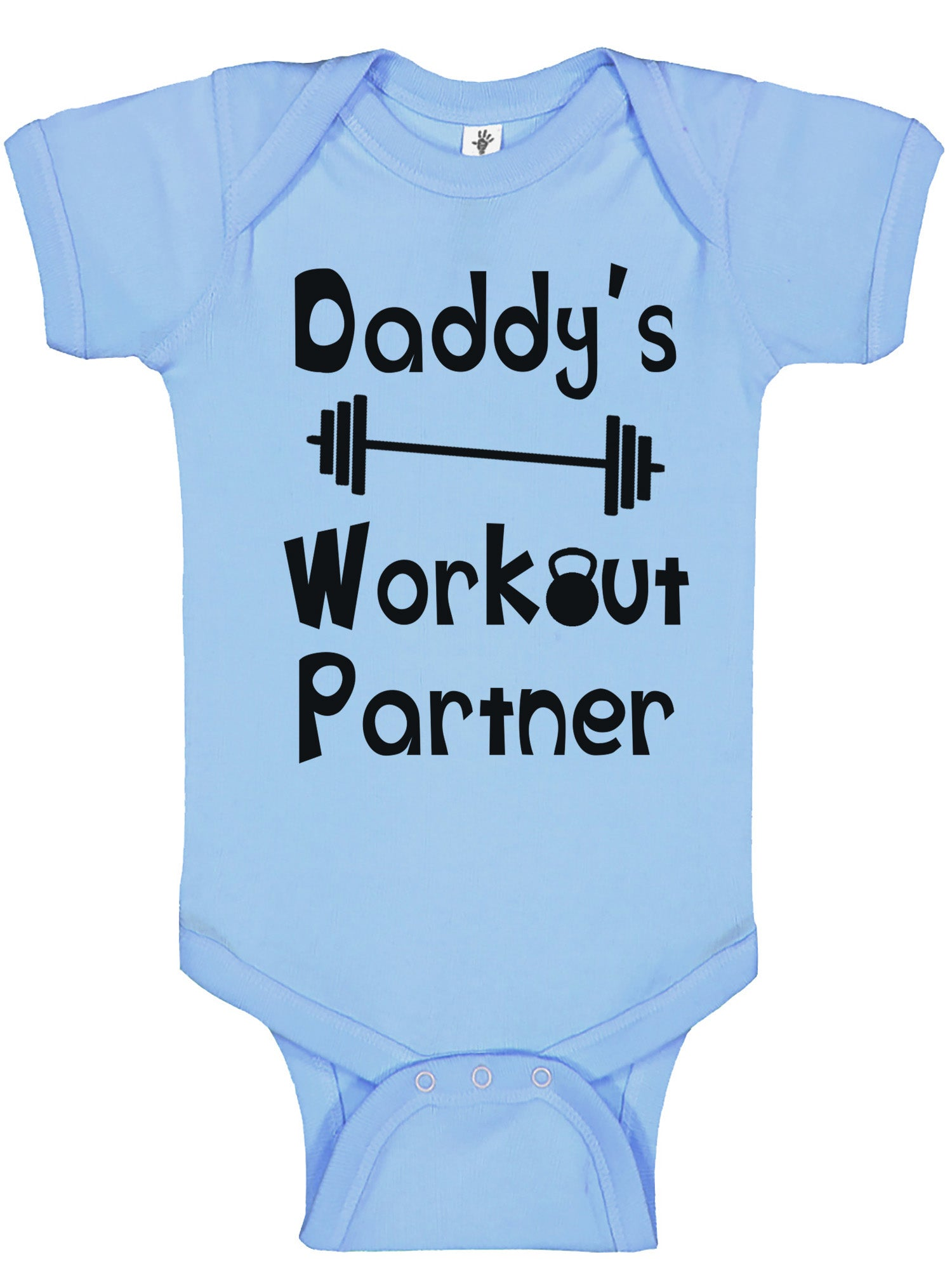 Aiden s Corner Funny Baby Boy Clothes Daddy s Workout Partner Baby