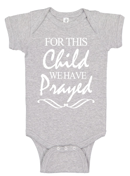 For This Child Bodysuits - Aiden's Corner