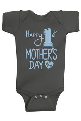 Handmade Boutique Style Baby Boy Girl Clothes - Mother's Day Onesie