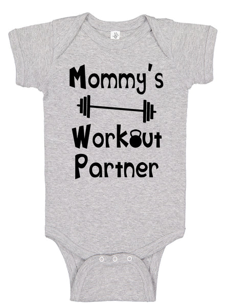 Mommy's Workout Partner Bodysuit - Aiden's Corner