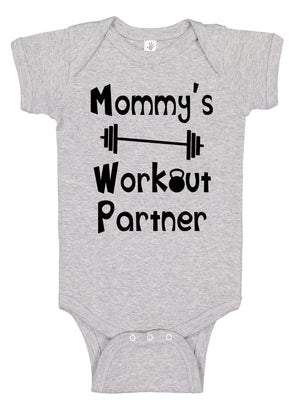 Mommy's Workout Partner Bodysuit