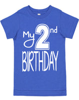 My Second Birthday Shirts - Aiden's Corner Baby Clothes