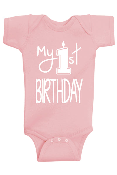 My 1st Birthday Bodysuit - Aiden's Corner