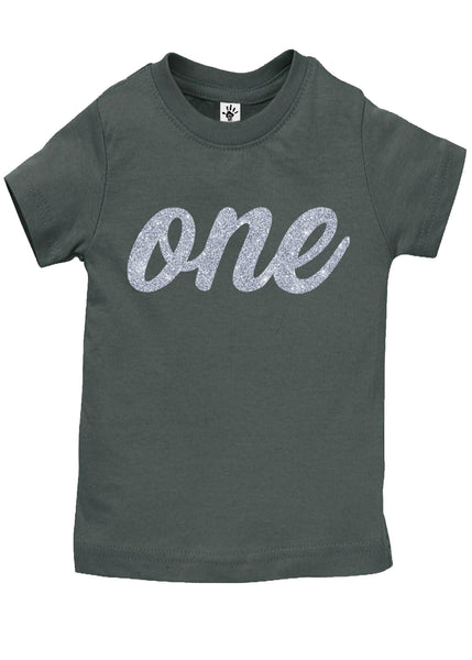 One Silver Birthday Shirt - Aiden's Corner