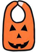 Pumpkin Face Halloween Bib - Aiden's Corner
