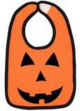 Pumpkin Face Halloween Bib - Aiden's Corner Baby Clothes