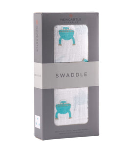 Space Robot Swaddle - Aiden's Corner Baby & Toddler Clothes, Toys, Teethers, Feeding and Accesories