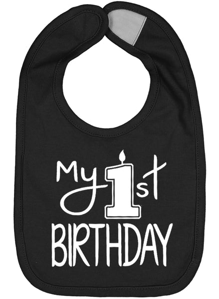 My First Birthday Smash Cake Bib - Aiden's Corner