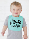 Wild One First Birthday Smash Cake Bib - Aiden's Corner Baby Clothes