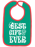 Best Gift Ever Christmas Bib - Aiden's Corner Baby Clothes