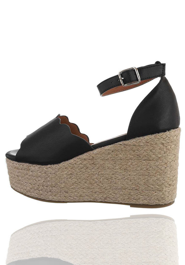 (forudbestilling!) Freeda wedges - black