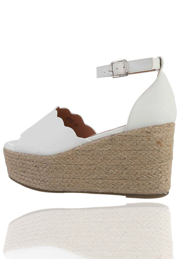 (forudbestilling!) Freeda wedges - white
