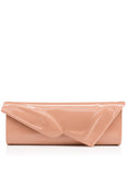 So Kate Baguette Clutch in Patent Nude