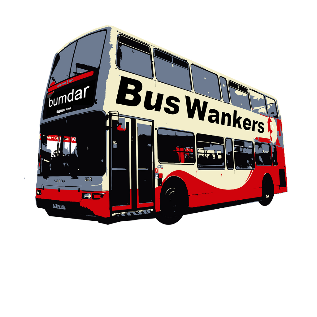 BUS WANKERS - LONG SLEEVE - The Bensin Clothing Company