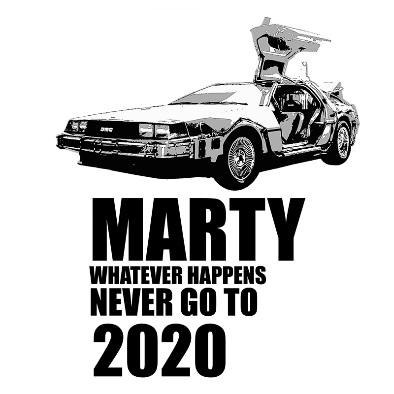 DELOREAN TIME MACHINE - LONG SLEEVE - The Bensin Clothing Company