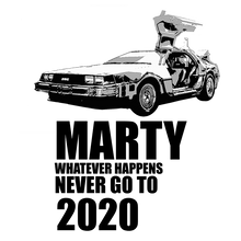 Load image into Gallery viewer, DELOREAN TIME MACHINE - LONG SLEEVE
