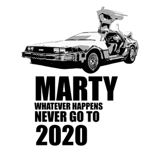 DELOREAN TIME MACHINE - LONG SLEEVE