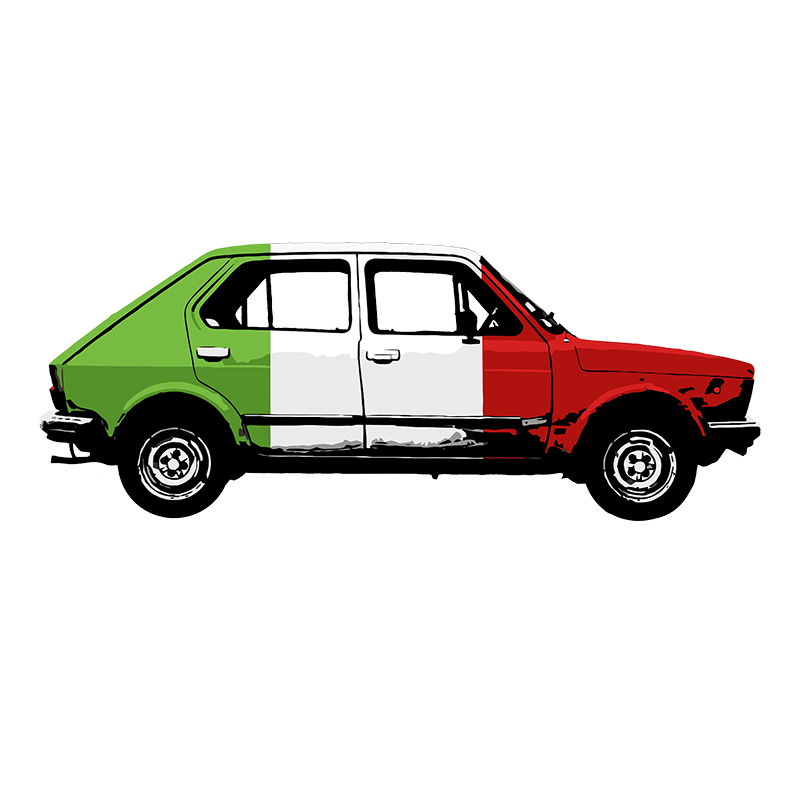 FIAT 127 T-Shirt & BANGERNOMICS - LONG SLEEVE - The Bensin Clothing Company