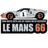 LE MANS 66 Ford GT40 T-Shirt - The Bensin Clothing Company