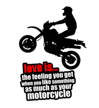 Load image into Gallery viewer, LOVE OF THE MOTORCYCLE