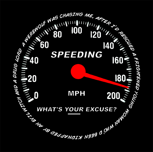 SPEEDING - The Bensin Clothing Company