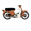THE HONDA 50 SUPER CUB - The Bensin Clothing Company