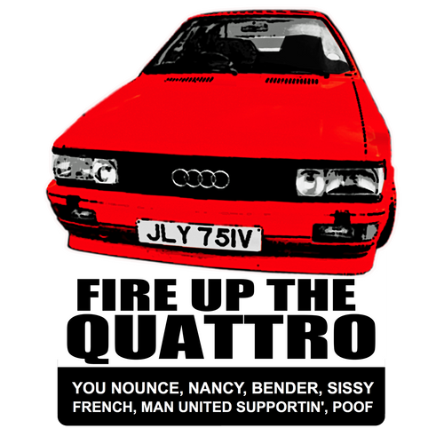 THE QUATTRO - FIRE IT UP
