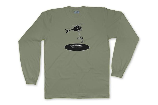 BANKSTER'S HOLE - LONG SLEEVE