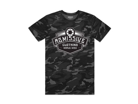 Black Camo Solid T-shirt