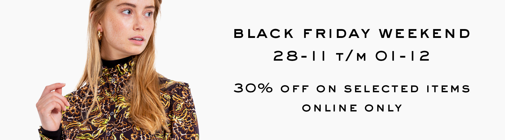 30% off on selected items - online only