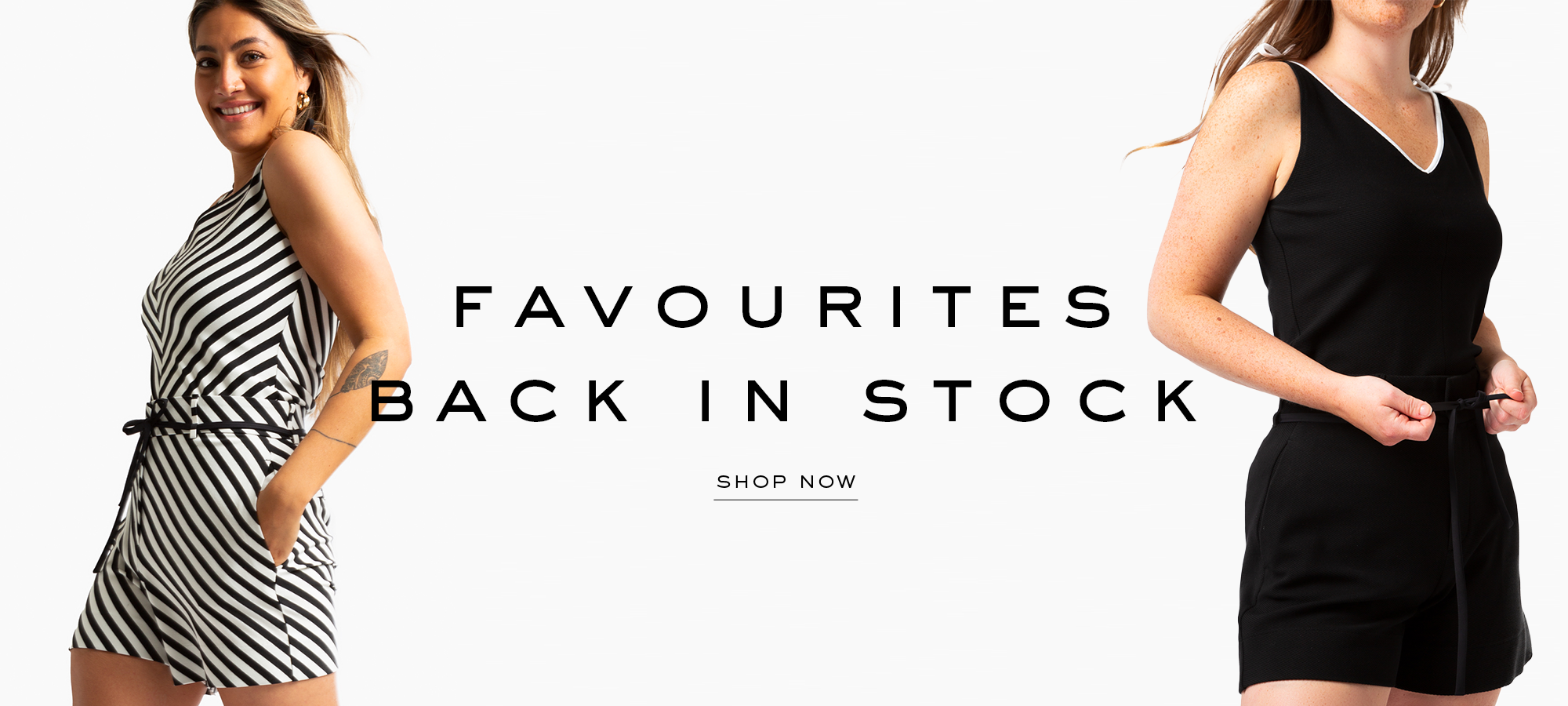 favourites back in stock