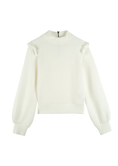 Sweat ruffle turtle sweat