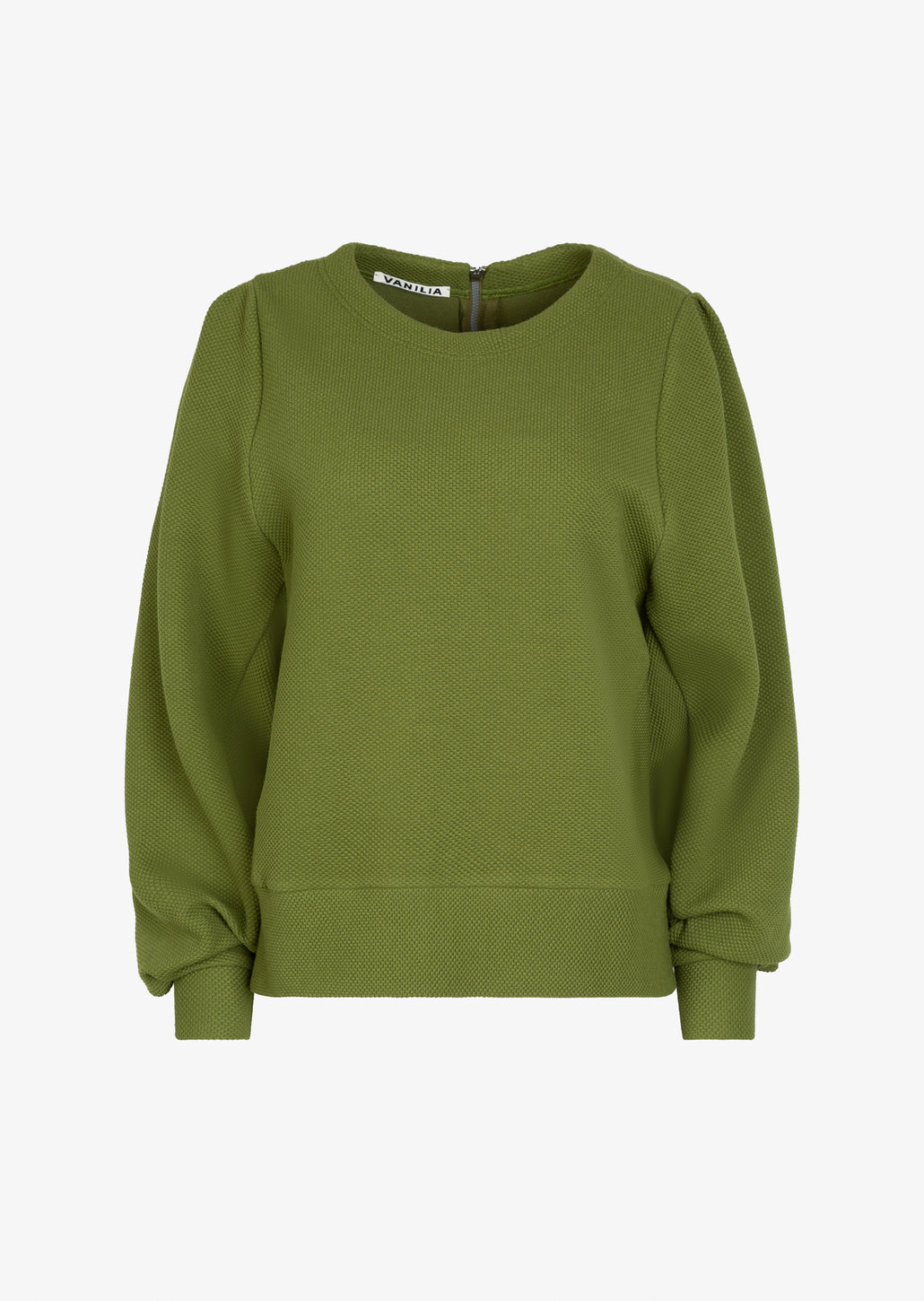 groene dames sweater relaxed-fit productbeeld