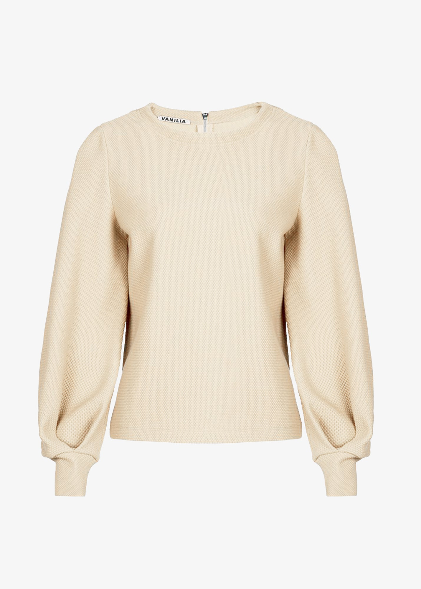 Dames sweater in beige