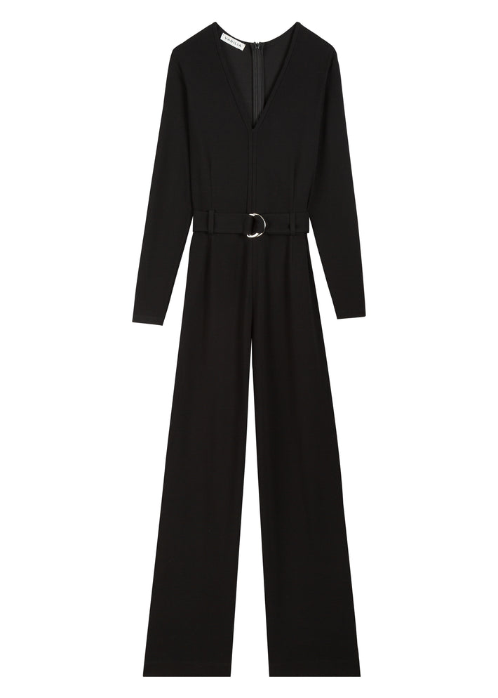 Jumpsuit in ribkwaliteit
