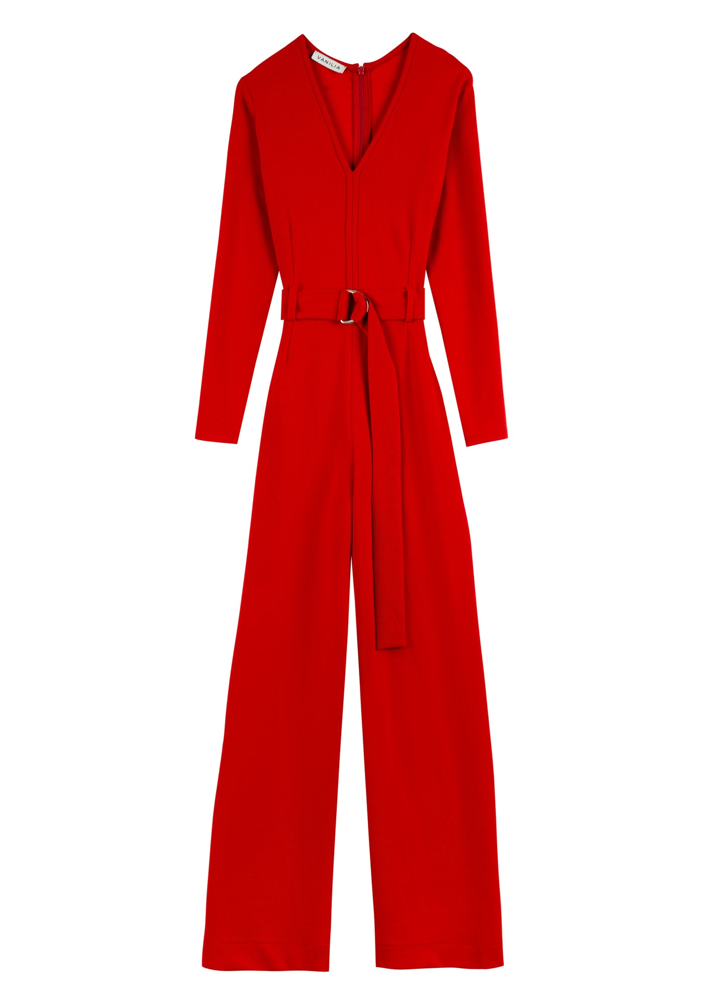 Jumpsuit ribbed suit
