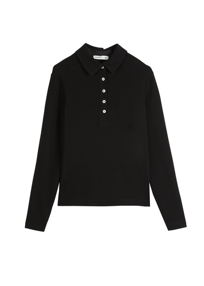 Top polo longsleeve