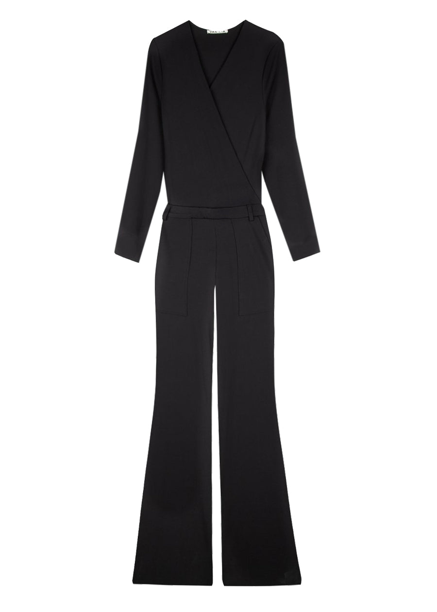 Jumpsuit flaired onesie