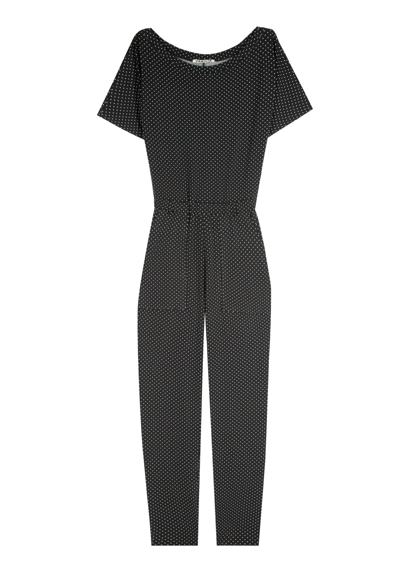 Jumpsuit met stippenprint