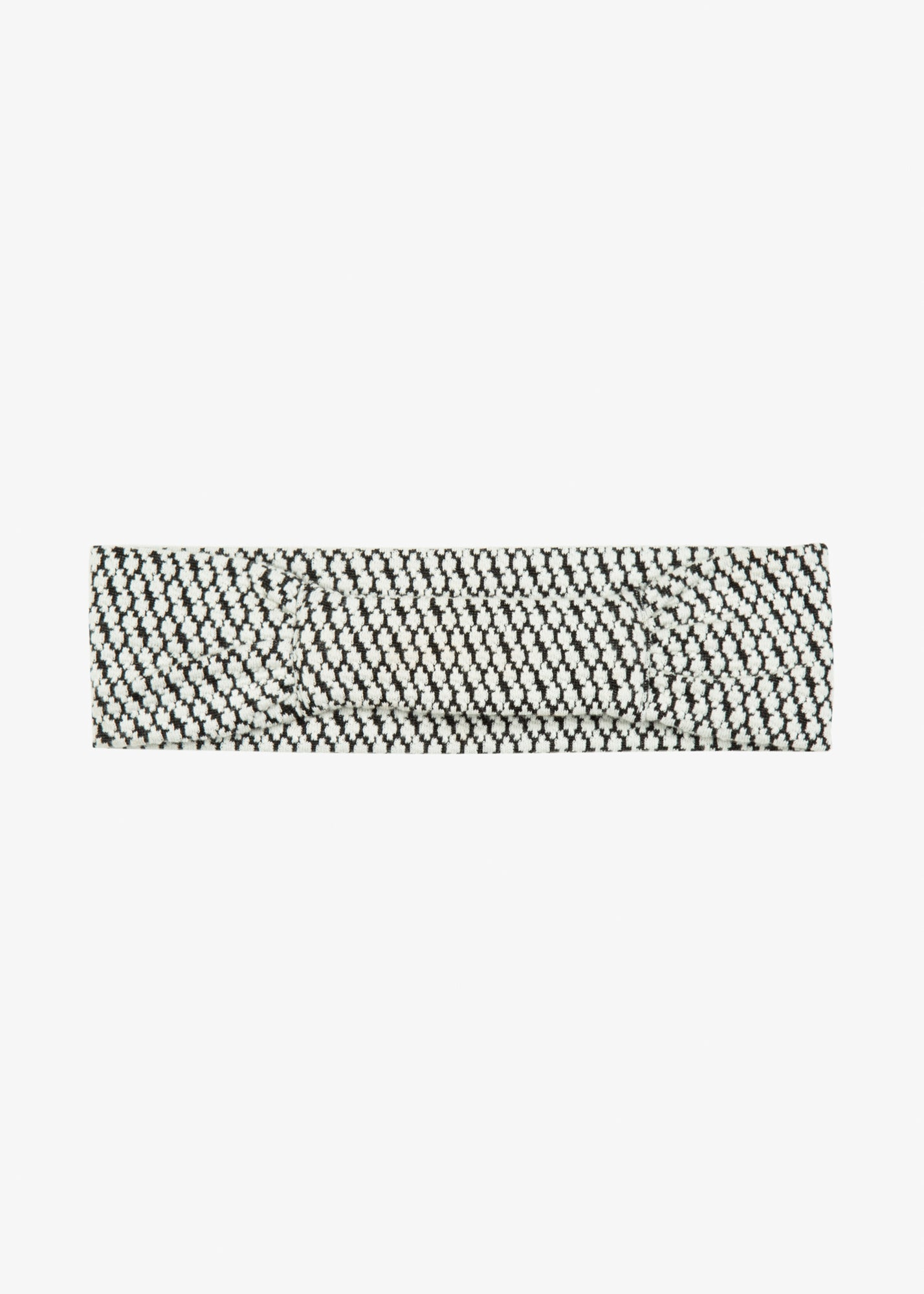 jacquard tricot haarband