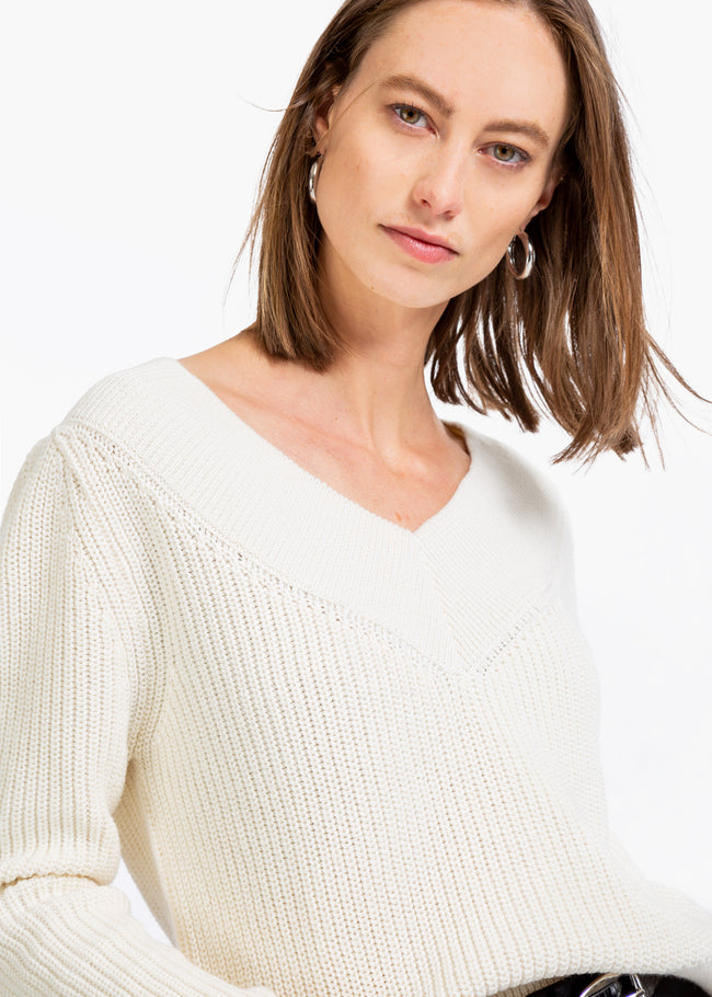 Sweater patent stitch